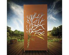 Sichtschutzwand Weide 95 x 185 cm, braun-rost, bei Hornbach
