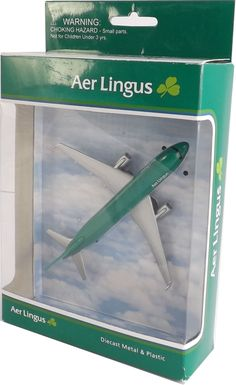 Aer Lingus diecast model plane