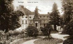Alameda. #Santiago de #Compostela. Fotos antiguas de Santiago de Compostela