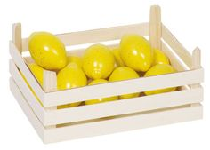 Kaufmannsladen-Kaufladen-Zubehoer-Lebensmittel-Obst-Gemuese-Holz-Spielkueche