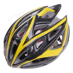 TITANS CG03DG-001 Cool Mountain Bike Cycling Helmet - Yellow   Black (Size-L) Price: $24.72