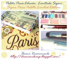 La paleta edición limitada Paris de Sigma / Sigma Paris Palette Limited Edition ~ IleanaRecommends