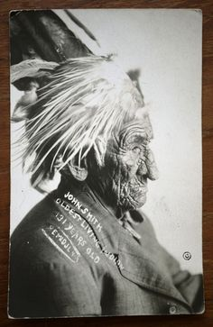 10 Portraits of White Wolf aka Chief John Smith, the Oldest Native American to Have Ever Lived John Smith, Native American Photos, Native American History, American Indians, We Are The World, People Of The World, Native Indian, Apache Indian, Indian Tribes