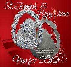 St. Joseph & Baby Jesus. NEW for 2012!