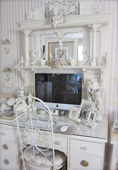 Something similar to this would work over my desk in place of a hutch.  But it needs to be a bit deeper.