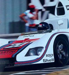 Porsche 936/76. Team: Martini Racing Winnaar Le Mans 24 Hours 1976. Jacky Ickx - Gijs van Lennep