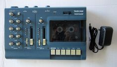 Tascam Porta 02 Ministudio 4 Track Cassette Recorder With Power Supply Free Ship #TASCAM