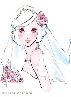 Illustrations, this reminds me of Barbie,too