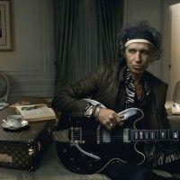 Keith Richards, photo by Annie Liebovitz