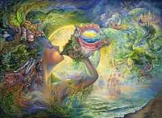 "Sea Witch:  #Sea #Witch ~ ""Call of the Sea,"" by Josephine Wall."