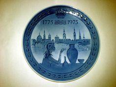 Sammelteller Royal Copenhagen 200 Jahre 1775 - 1975 TOP