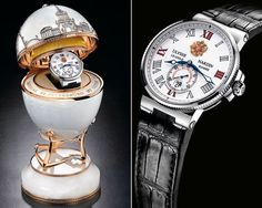 Ulysse Nardin Limited Edition Imperial St. Petersburg Watch.