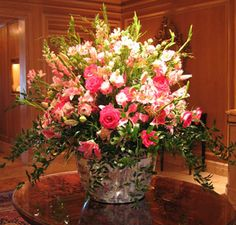 flower arrangements for entryway tables - Google Search