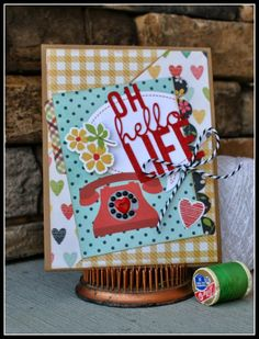 Simple Stories Homespun Cards