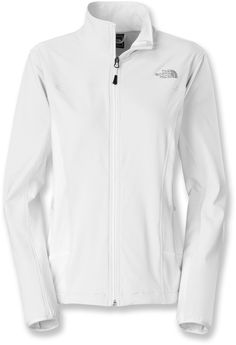 The North Face Nimble jacket for women brings a lot to the table with lightweight, soft-shell material with incredible stretch; it's ideal when you need a layer that cuts the windchill down to size.