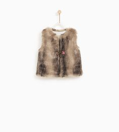 61a3d2e9a8f3 FAUX FUR WAISTCOAT - COLLECTION-SALE-BABY GIRL