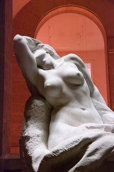La Forme se dégageant de la matière (Form Disengaging Itself from Matter), 1902. Gustave-Frédéric Michel (1851-1924)