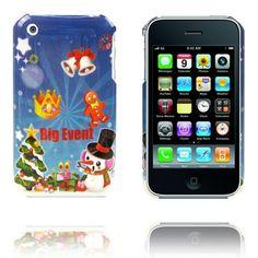 Vrolijk Kerstfeest (Grote Event) iPhone Case voor 3G en de iPhone 3GS