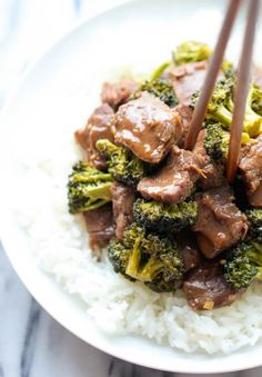 "With this Easiest Ever Slow Cooker Beef and Broccoli recipe, you can have ""takeout"" whenever you choose! This restaurant style beef and broccoli recipe takes classic flavors you love and brings them to your table effortlessly."