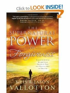 The Supernatural Power of Forgiveness: Discover How to Escape Your Prison of Pain and Unlock a Life of Freedom by Kris Vallotton. $10.87. Publisher: Regal (April 14, 2011). Author: Kris Vallotton