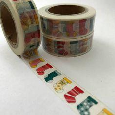 Christmas Stockings Washi Tape