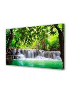Tablouri Canvas Peisaje Decorative Pierre Auguste Renoir, Abstract Canvas, Waterfall, Modern, Outdoor, Outdoors, Trendy Tree, Outdoor Living, Garden