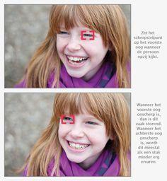 Scherpstellen bij portretfotografie: belangrijke tips