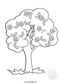 Tree Coloring Page, Flower Coloring Pages, Adult Coloring Pages, Coloring Pages For Kids, Coloring Sheets, Applique Patterns, Mosaic Patterns, Quilt Patterns, Earth Craft