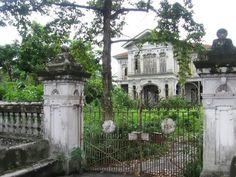 Abandoned colonial mansion, Penang, Malaysia.