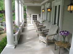 I believe in fairy tales, with wrap around porches and white pickets fences!