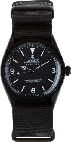 Black Limited Edition Matte Black Limited Edition Rolex Oyster Perpetual Explorer