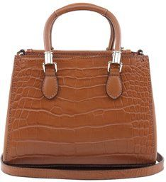 Mini Tote Lorena Croco Ginger