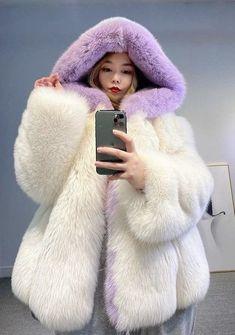 Fluffy Coat, Fluffy Sweater, Sable Fur Coat, Fur Clothing, Fake Fur, Fox Fur Coat, White Fur, Fur Fashion, Girly Outfits