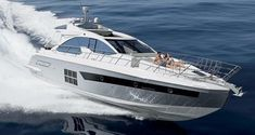 Trades Considered 55 ft 2015 Azimut 55S yacht for sale #yachtdesign
