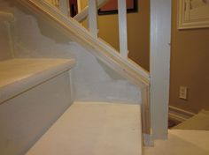 Removing Carpet from Stairs and Painting Them :: Hometalk