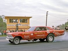 Bobby Wood's 396 Chevelle altered wheelbase SF/X early funny car