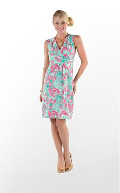 Lilly Pulitzer dress in Scorpion Bowl print