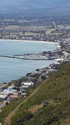 """Suikerbossie suburb against the Hottentots-Holland mountains overlooking Views of False Bay & Old Harbour of Gordon Bay....probably one of the most beautiful """"suburban"""" views you can find anywhere in South Africa."""