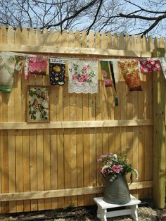 Little Bit of Gypsy Prayer Flags... I love the idea of making prayer flags to hang outside my home.