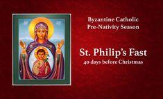 Advent Season, Days Before Christmas, Byzantine, Nativity, Catholic, Religion, Seasons, Poster, Painting