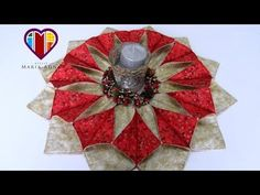 Patchwork Maria Adna - Cesto (cesta) de costura em patchwork - Técnica patchwork foundation - YouTube