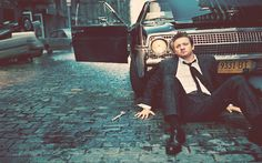 Jeremy Renner. I've become a little in love with him