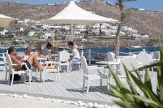 The à la carte restaurant Le Pirate is a seaside paradise of Mediterranean flavors.