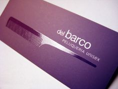 Hairdressing Saloon Business Cards by malota, via Flickr