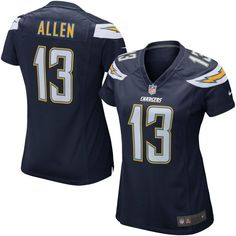 Keenan Allen Los Angeles Chargers Nike Girls Youth Game Jersey - Navy