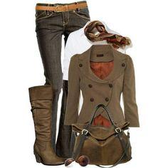 Loving the fall fashion.