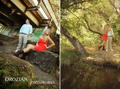 Candice and Matt's Engagement Session in Winters