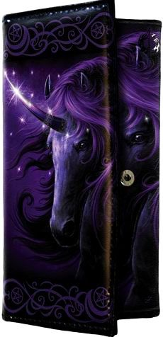 Modern Cross Stitch Kit By SheBlackDragon 'Black Magic Unicorn' - Fantasy NeedleCraft Kit - Purple Unicorn, Unicorn Cross Stitch Unicorn And Fairies, Unicorn Fantasy, Unicorn Horse, Unicorn Art, Magical Unicorn, Magical Creatures, Fantasy Creatures, Unicorn Pictures, Beautiful Unicorn