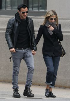 Nudie Jeans Thin Finn Jean in Faded Black Black - as seen on Justin Theroux