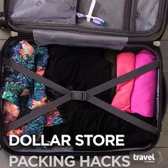 Change the Way You Pack Forever With Items From the Dollar Store.